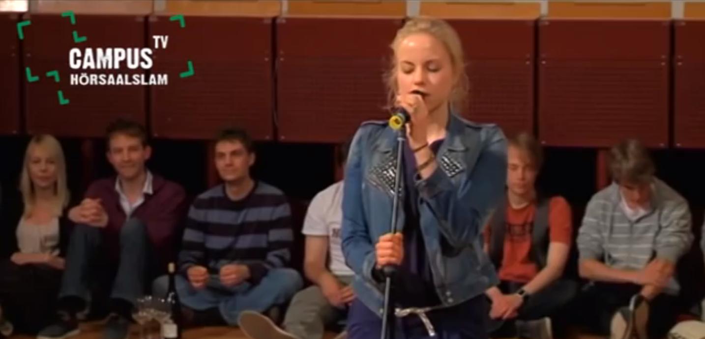 Poetry Slam Julia Engelmann