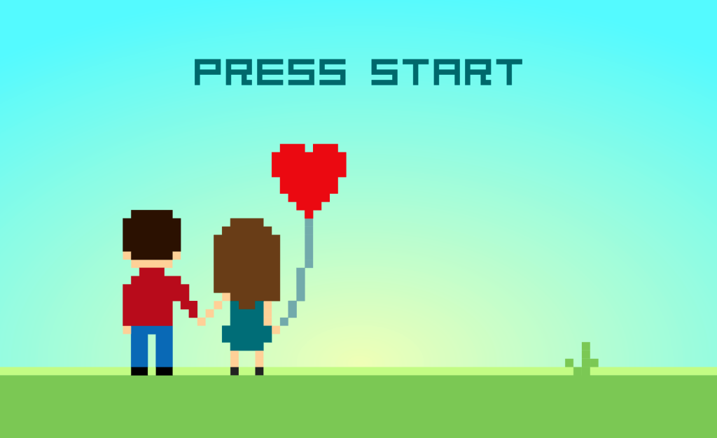 Das Leben ist ein Spiel. Press Start