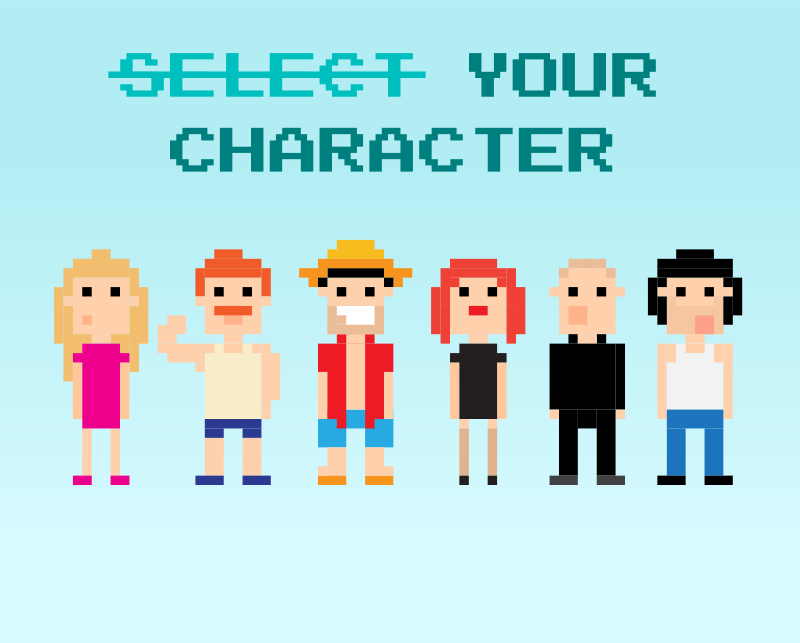 Select-your-character