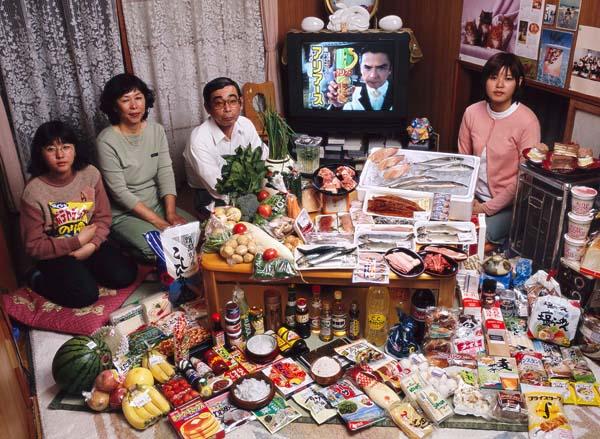 Essen für eine Woche - Japan