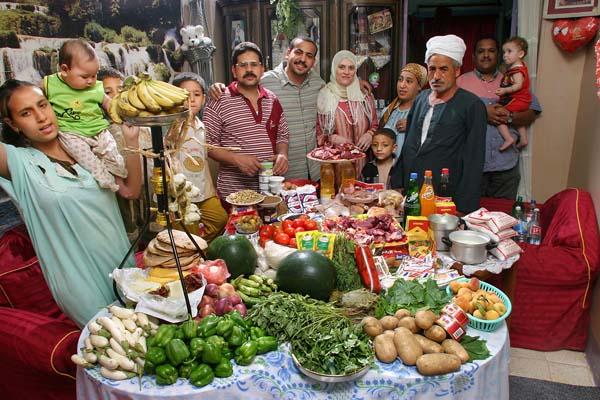 Essen für eine Woche - Ägypten