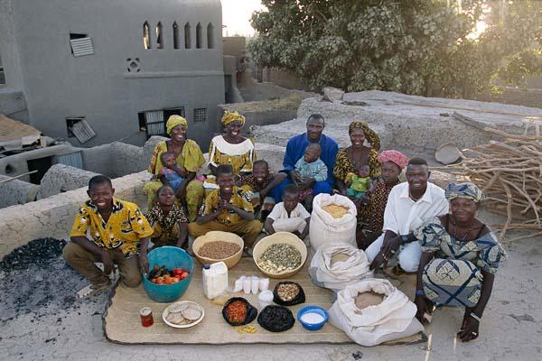 Essen für eine Woche - Mali