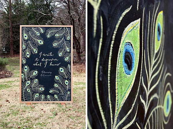 Kunstwerke auf Tafeln - Flannery O'Connor 2