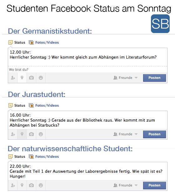 Studenten_facebookstatus