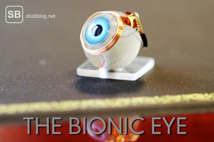Ein Bionic Eye, mit dem man wieder sehen kann.