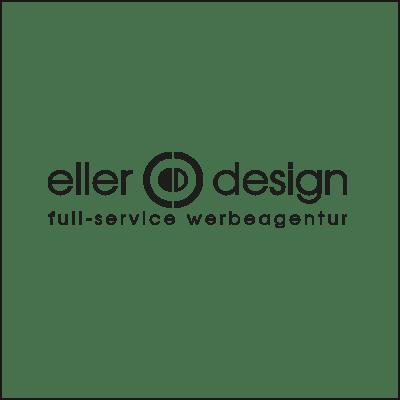 Logo von eller-design Werbeagentur - Sponsor von Fast Forest (Formula Student Deggendorf).