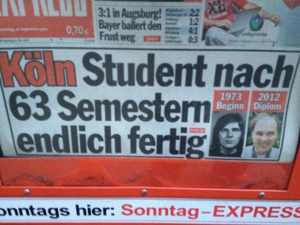 Student 63 Semester