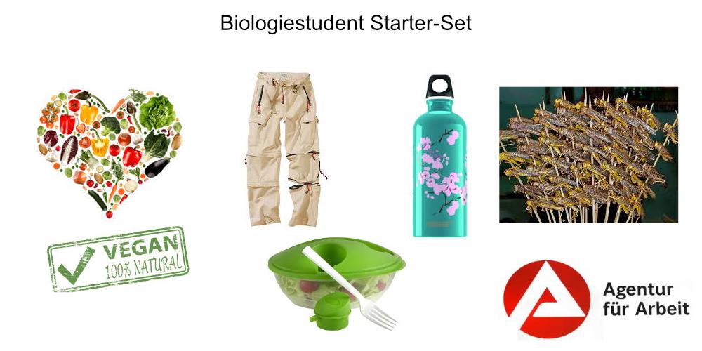 Biologiestudent-starterset