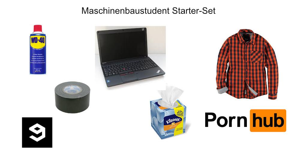 Maschinenbaustudent-starterset