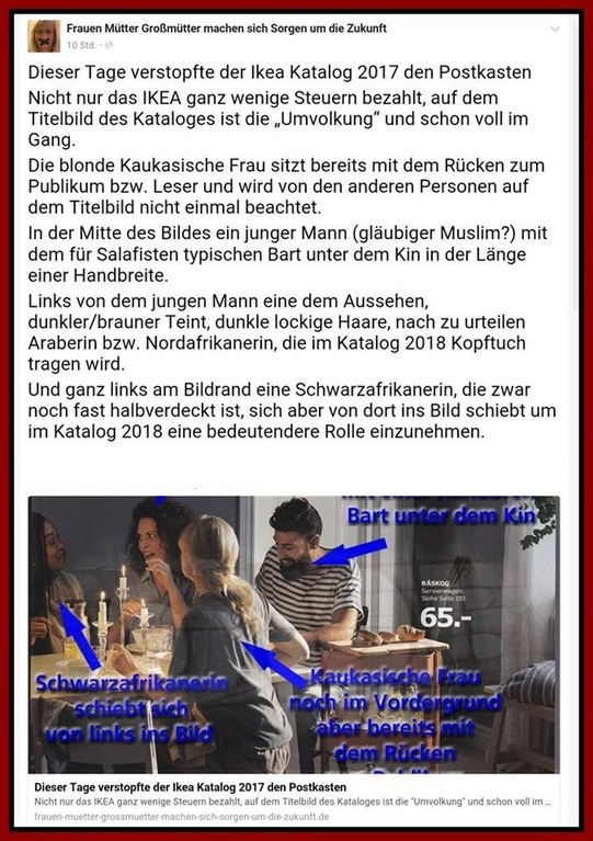 Besorgte Bürger Am Limit Der Neue Ikea Katalog Und Die Umvolkung