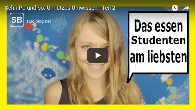 unnützes Wissen Teil 2 von Über Uni