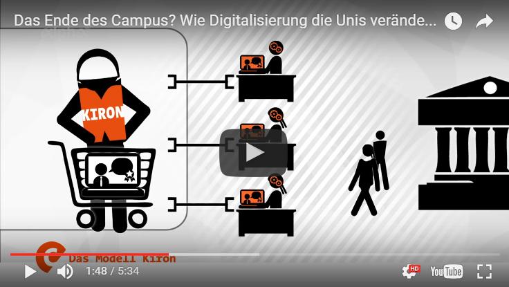 Digitalisierung der Uni durch kiron - online studieren