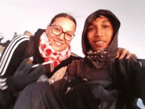 My Rinjani-friend Ronni