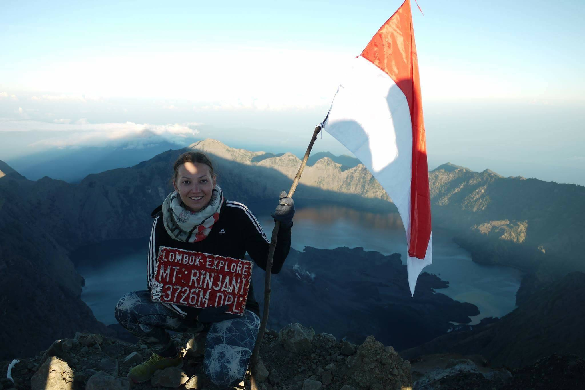 I conquered the Rinjani