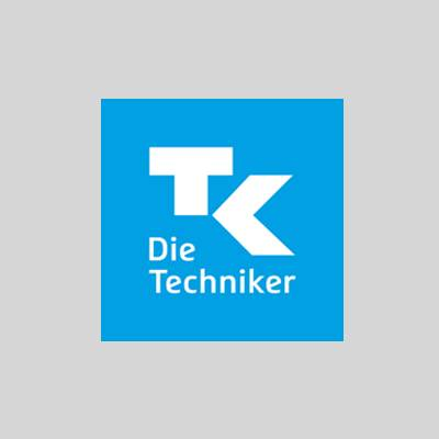 Techniker Krankenkasse Logo auf studiblog