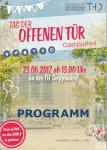 Tag der offenen Tür 2017 TH Deggendorf: Programm
