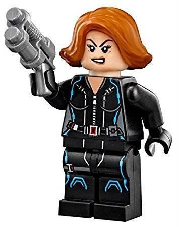 Lego Black Widow - Freundin von Doc Brown unserem Lego-Arzt