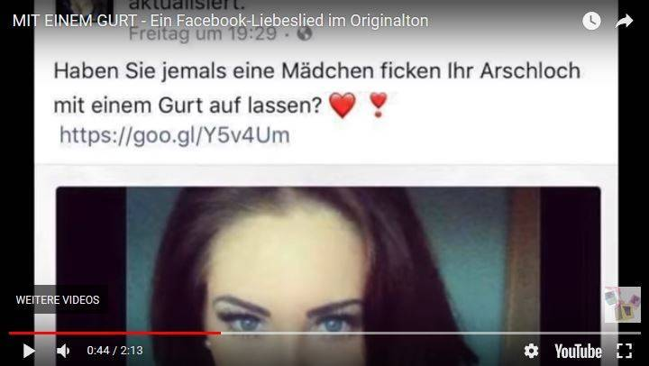 Artikelbild zum Song der Fake Sexy Girls auf Facebook