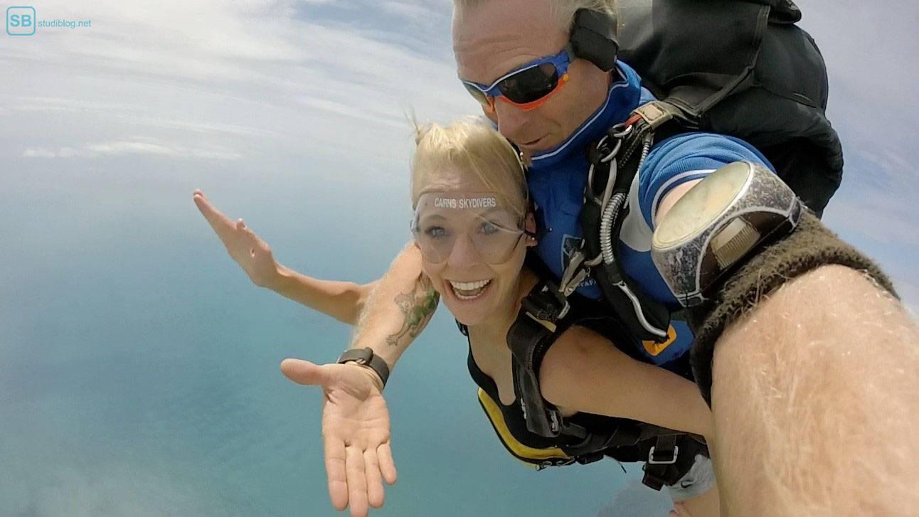 Auslandssemester in Australien: Skydiving