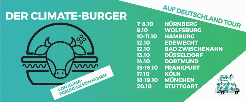 Kuhlicious Food Truck Tour Deutschland: Datum und Ort
