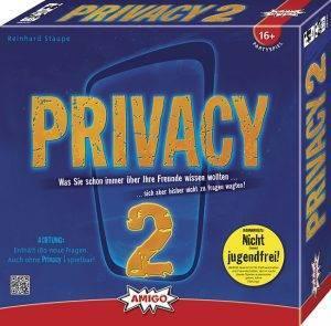 Privacy 2 Gewinnspiel von AMIGO und Studiblog: Frontansicht Privacy 2