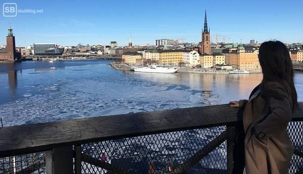 Aussicht auf Stockholm