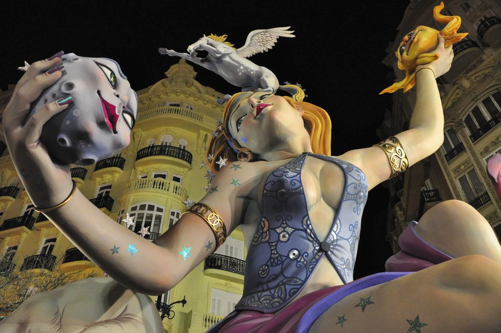 Auslandssemester Barcelona - Las Fallas