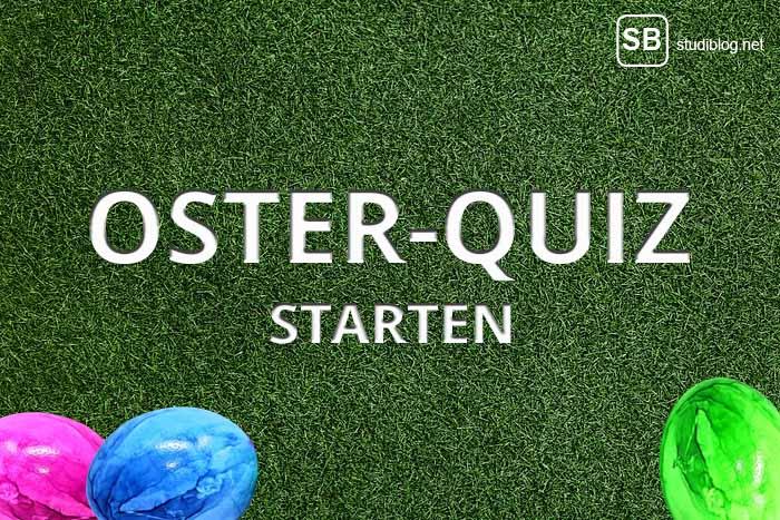 Titelbild zum Oster-Quiz vom Studiblog - Ostern und alles Wissenswerte drum herum