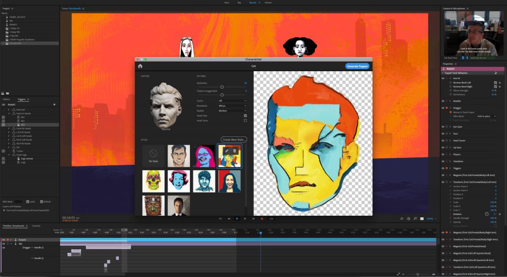 Programm von Adobe