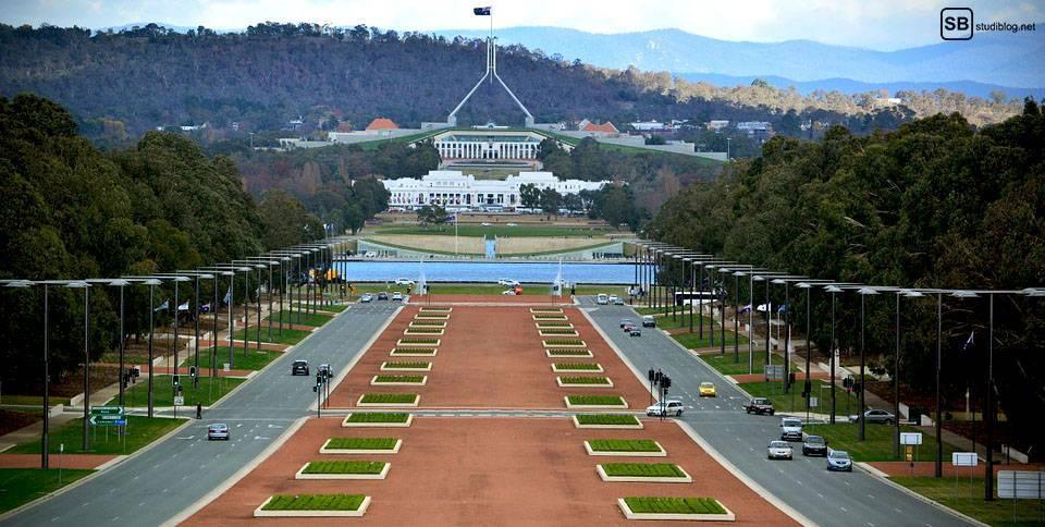 Auslandssemester in Australien: Canberra (Hauptstadt)