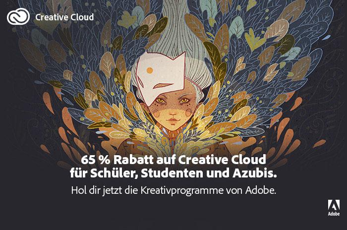 adobe creative cloud rabattaktion