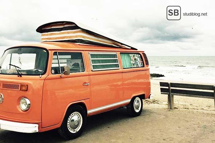 Traveller - VW Bus von Freddy uns seinem Freund