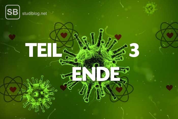 Ende der Reaktion in Sachen Biochemie als ein Bild für eine Romanze unserer Autorin
