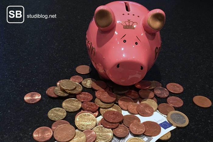 Ein Sparschwein als Symbol für einen Spartipp