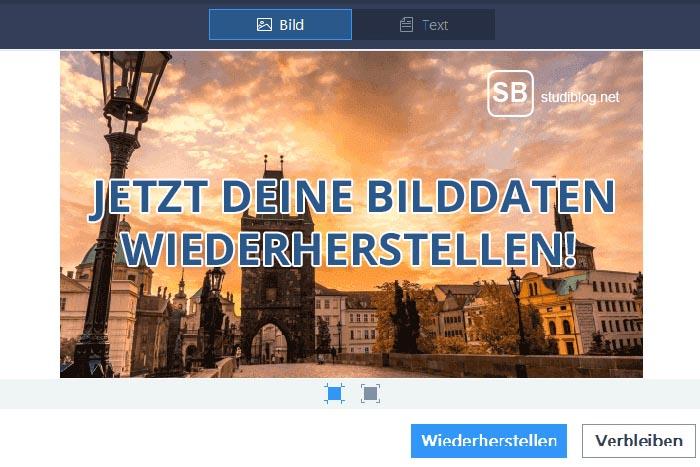 Easeus Software zur Wiederherstellung von Bilddaten