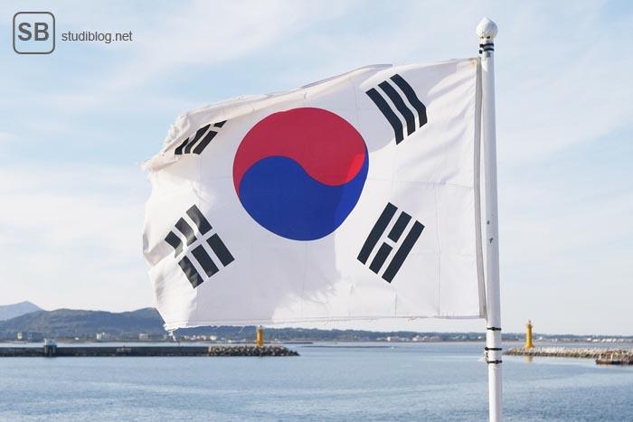 Südkorea Flagge
