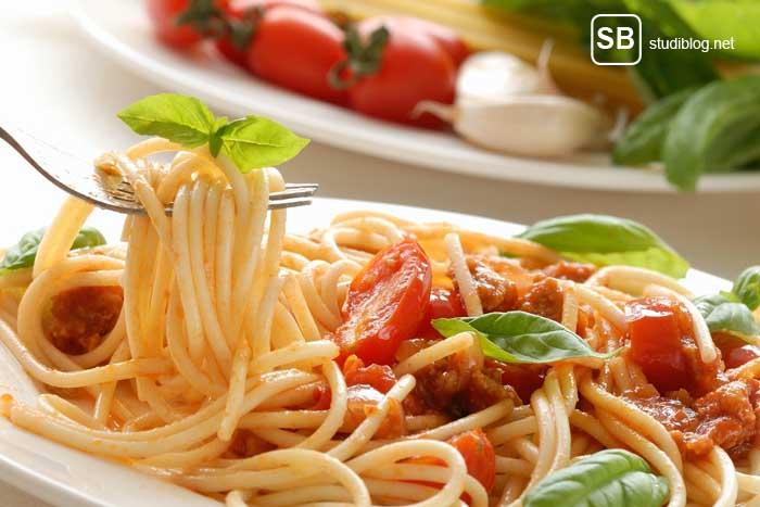 Pasta Rezepte auf StudiBlog