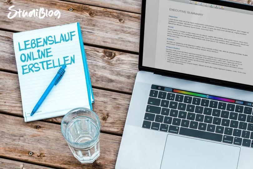 Lebenslauf online erstellen - StudiBlog